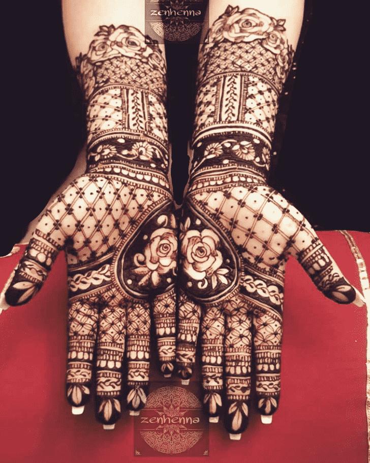Stunning Manipur Henna Design
