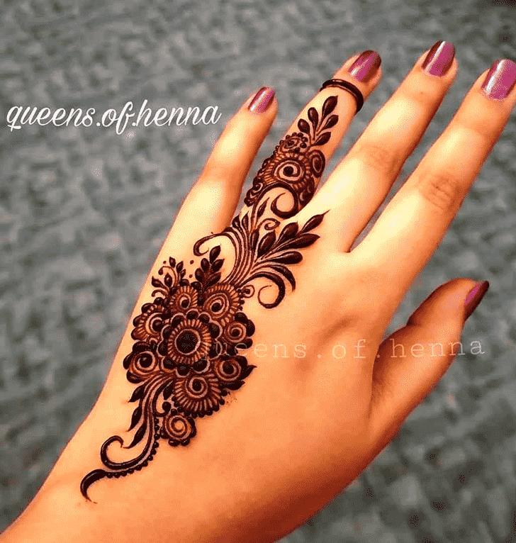 Admirable Marwari Mehndi Design
