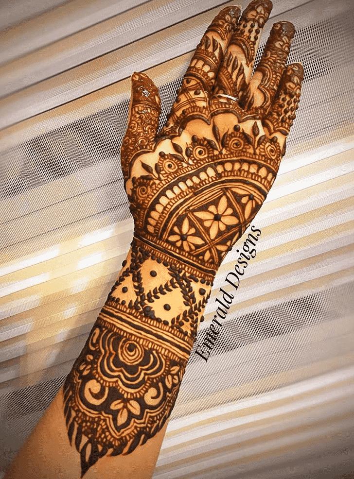 Arm Massachusetts Henna Design