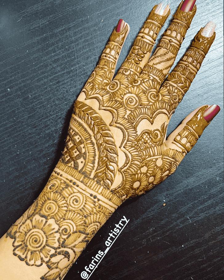 Enthralling Massachusetts Henna Design