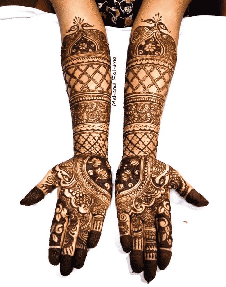 Enticing Massachusetts Henna Design