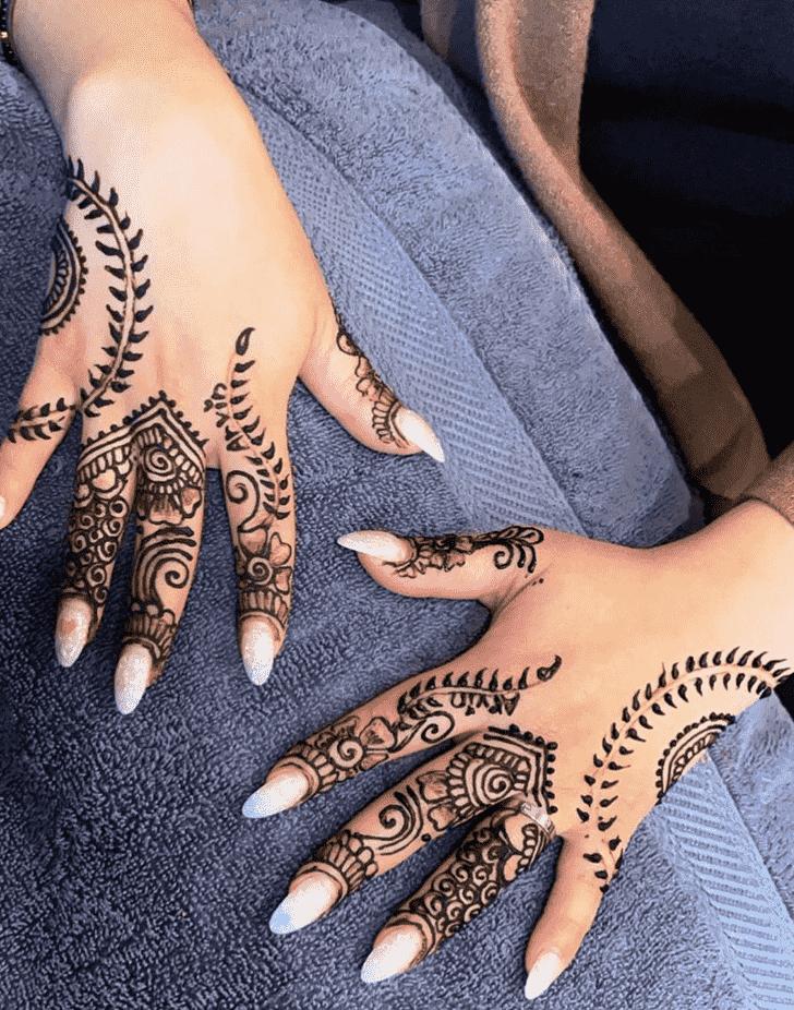 Excellent Massachusetts Henna Design