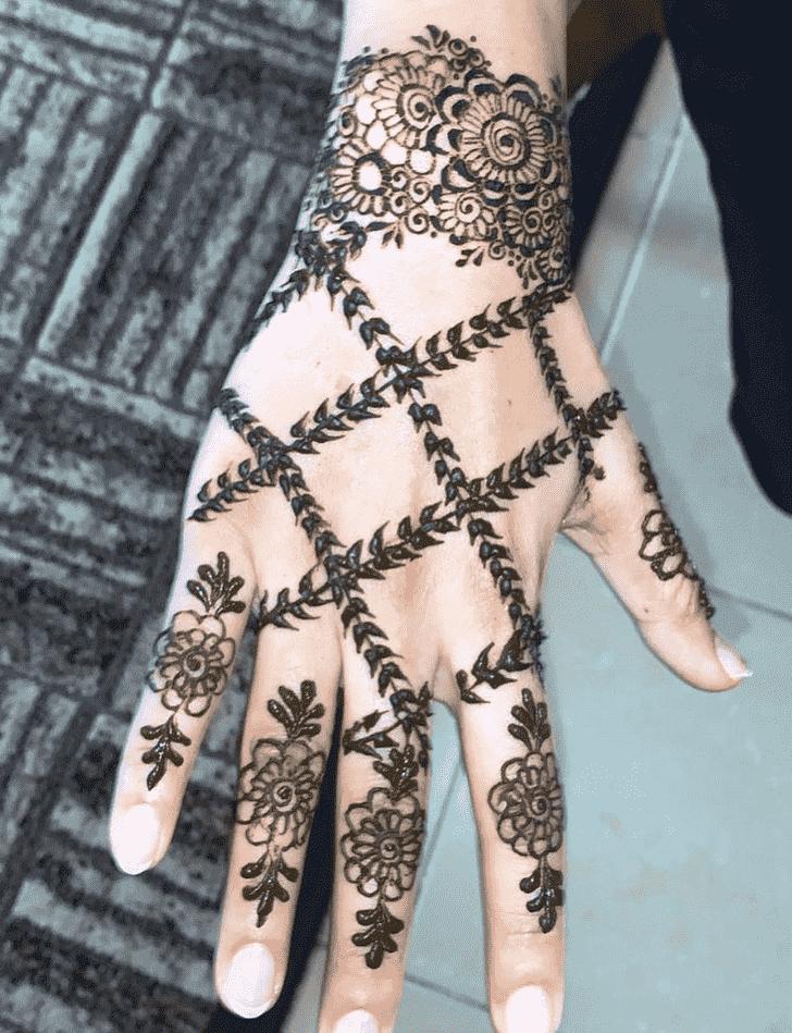 Fair Massachusetts Henna Design