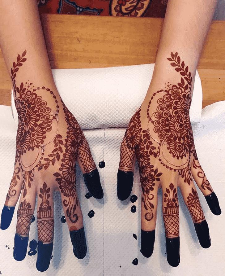 Fetching Massachusetts Henna Design