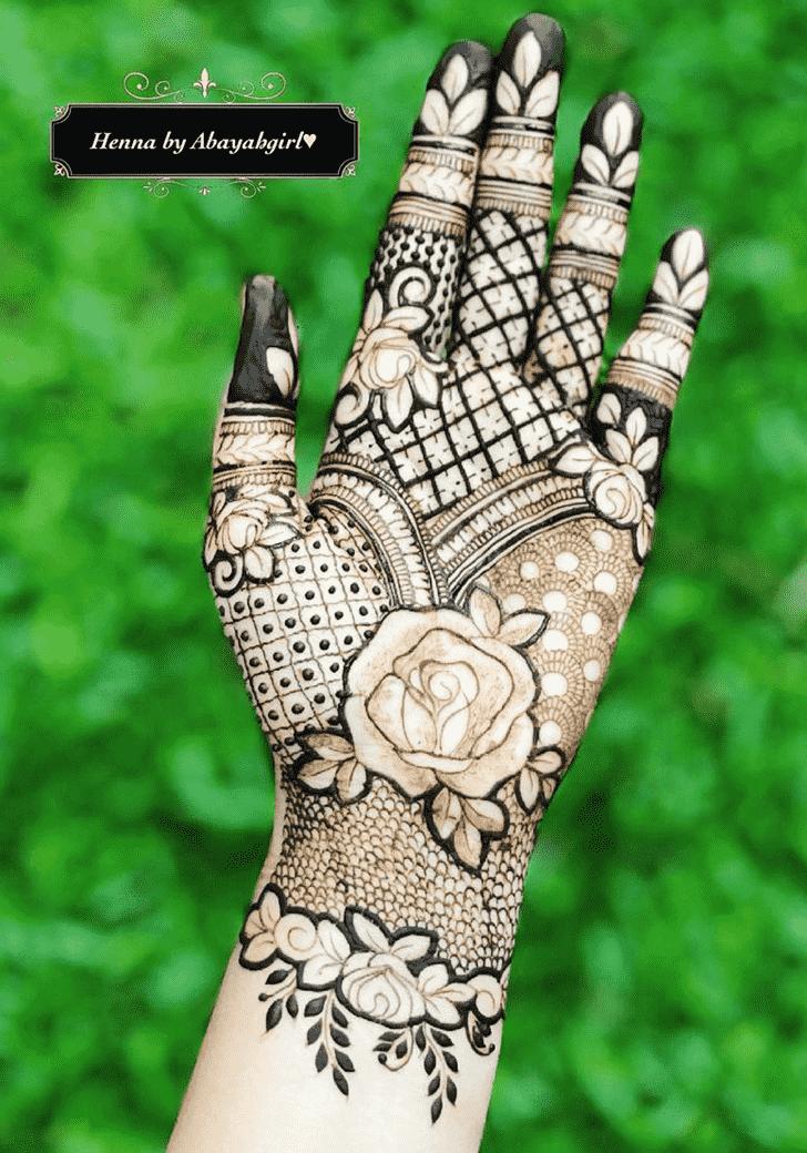 Awesome Massachusetts Henna Design