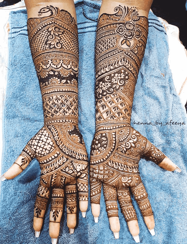 Ideal Massachusetts Henna Design