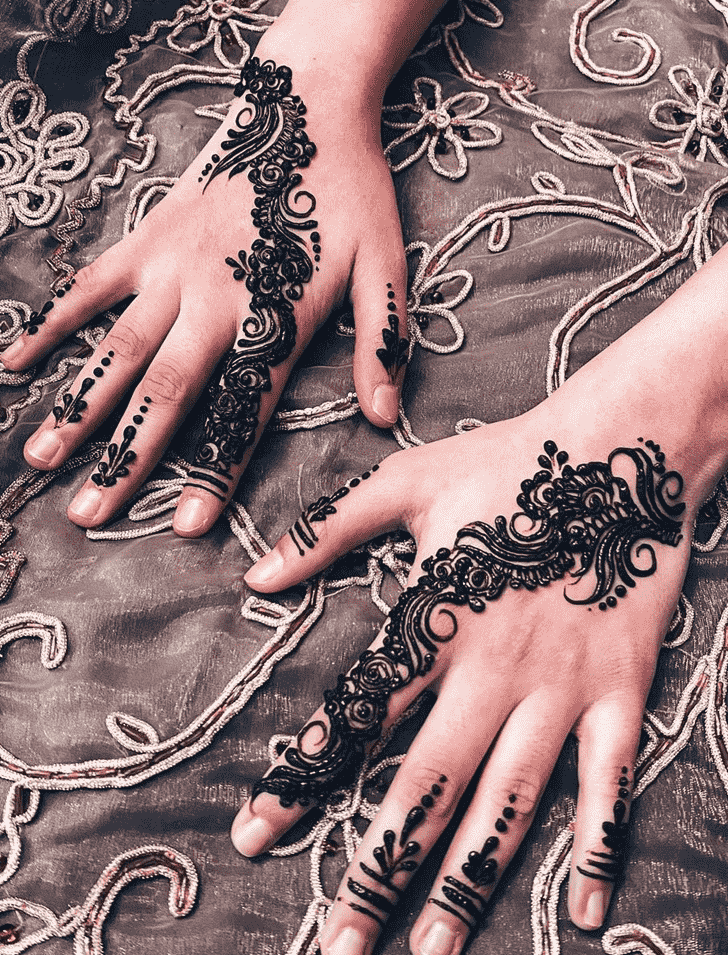 Marvelous Massachusetts Henna Design