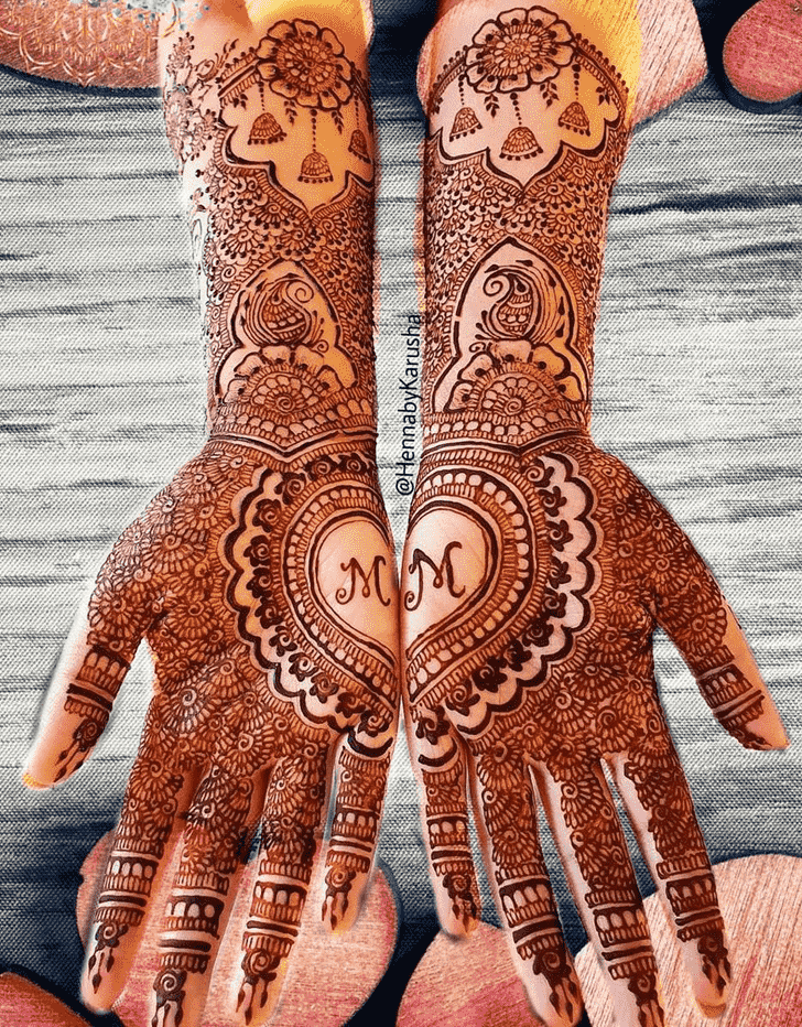 Nice Massachusetts Henna Design