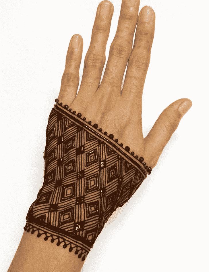 Alluring Meena Sankranti Henna Design