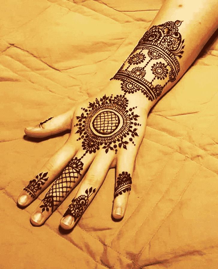 Appealing Melbourne Henna Design