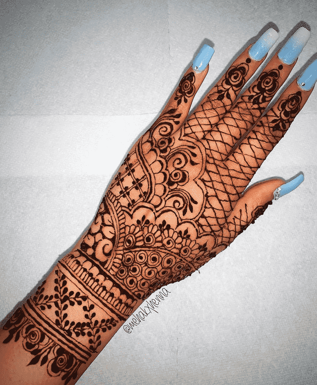 Angelic Muktagacha Henna Design