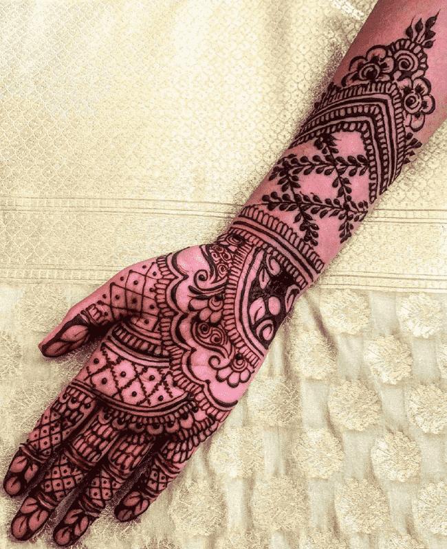 Appealing Muktagacha Henna Design