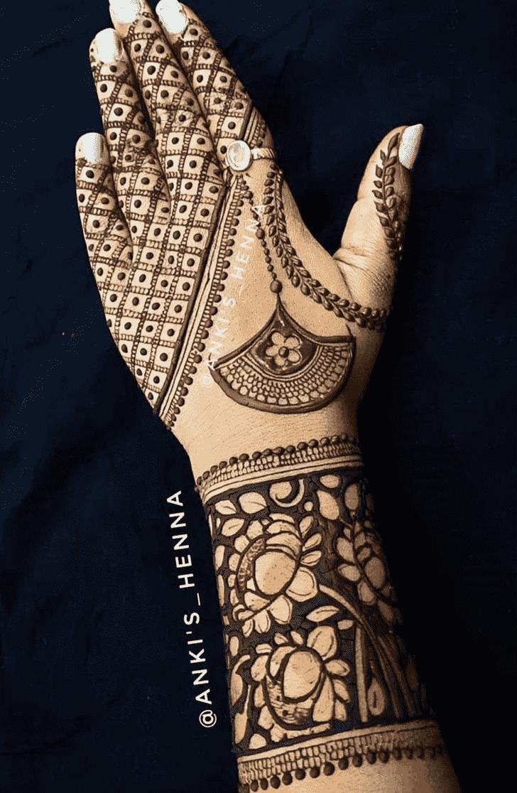 Angelic Mumbai Henna Design