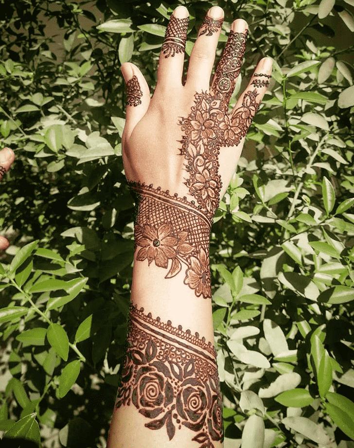 Beauteous Mumbai Henna Design