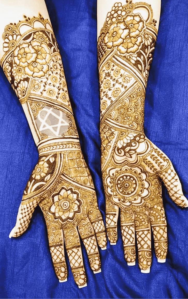 Captivating Mumbai Henna Design