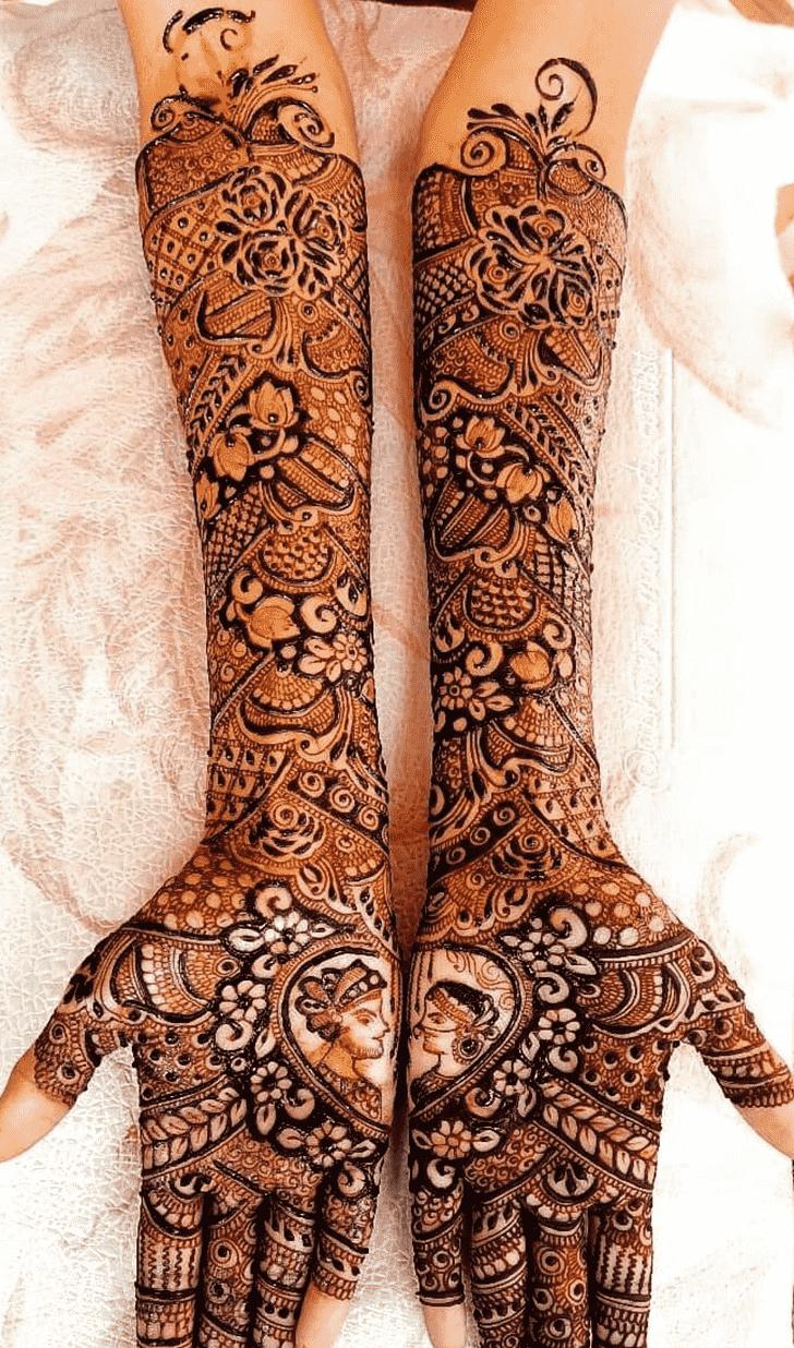 Charming Mumbai Henna Design