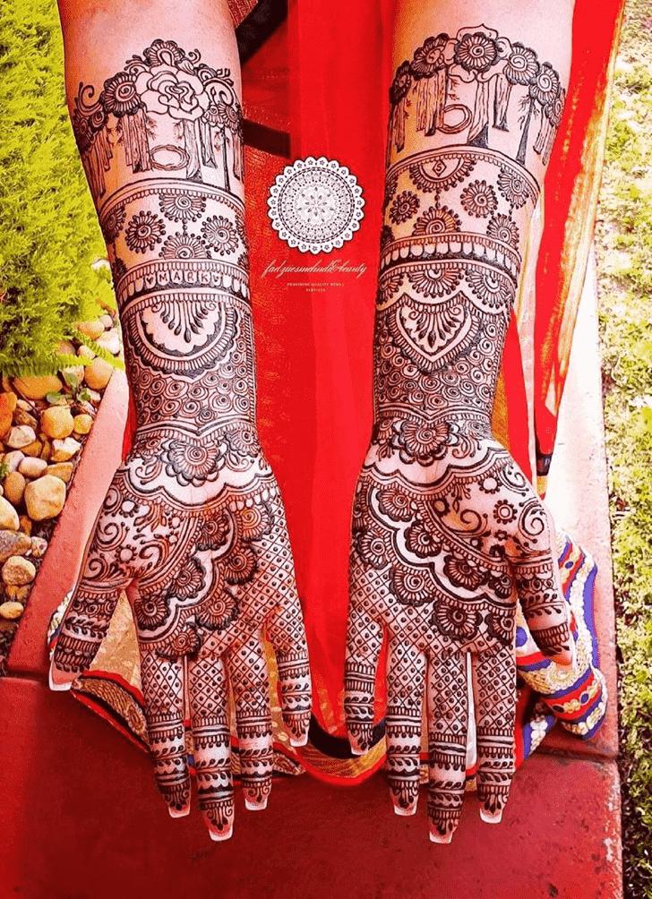Classy Mumbai Henna Design