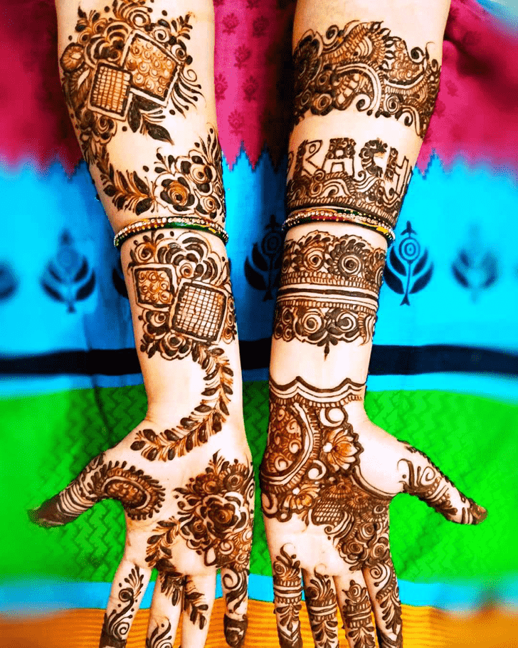 Admirable Munich Mehndi Design