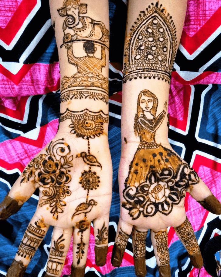 Adorable Munich Henna Design
