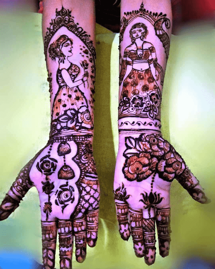 Angelic Munich Henna Design