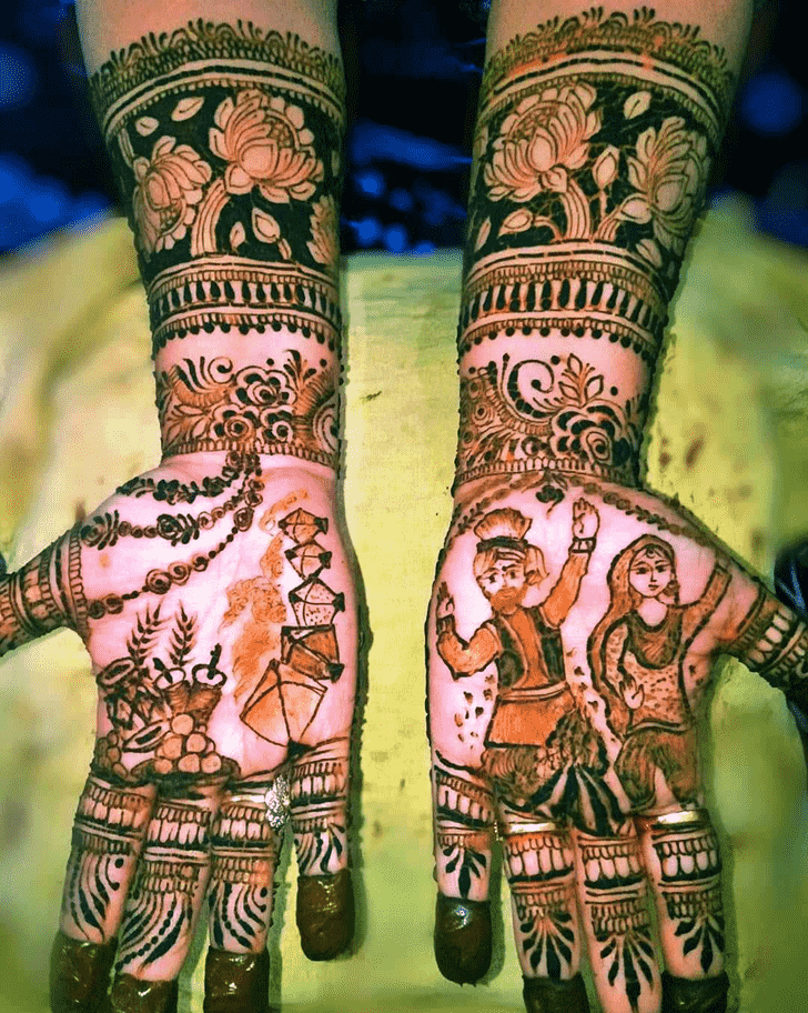 Appealing Munich Henna Design