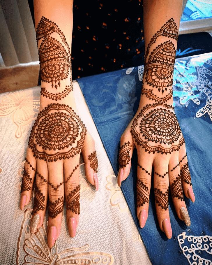 Classy Munich Henna Design