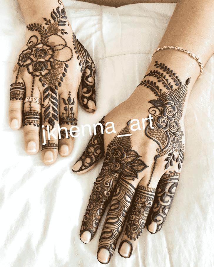 Admirable Mussoorie Mehndi Design