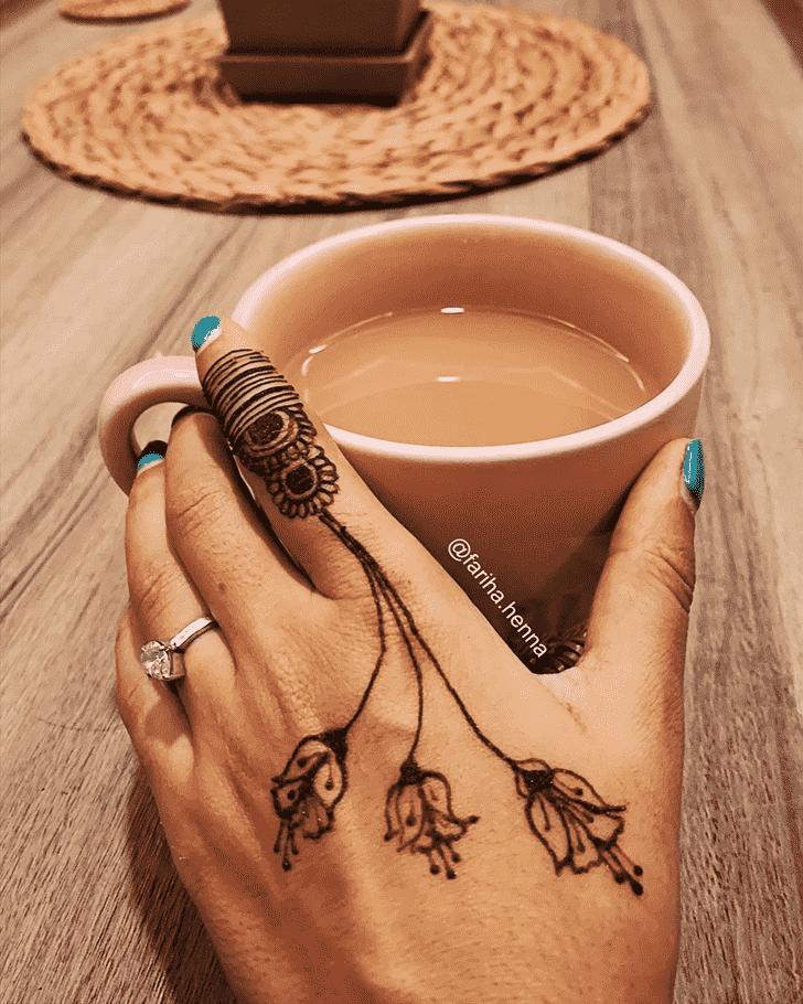 Bewitching Mussoorie Henna Design