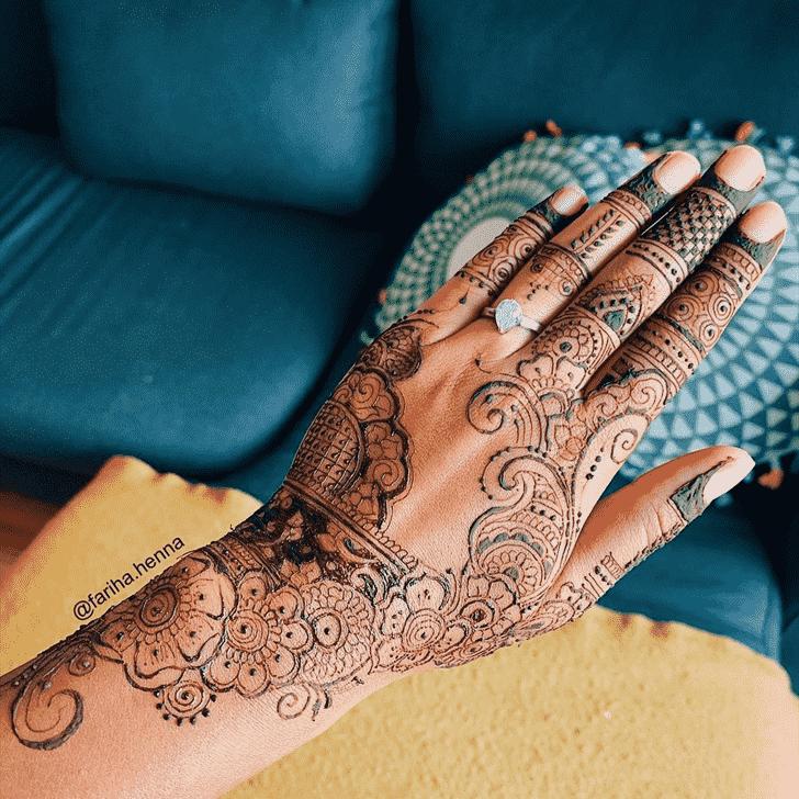 Arm Mussoorie Henna Design