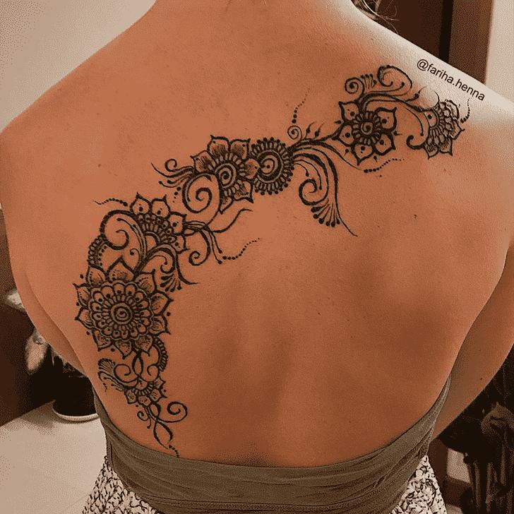 Dazzling Mussoorie Henna Design