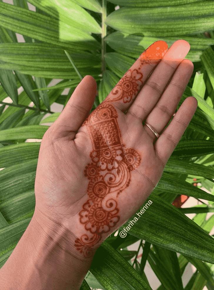 Delicate Mussoorie Henna Design