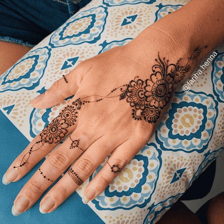 Excellent Mussoorie Henna Design