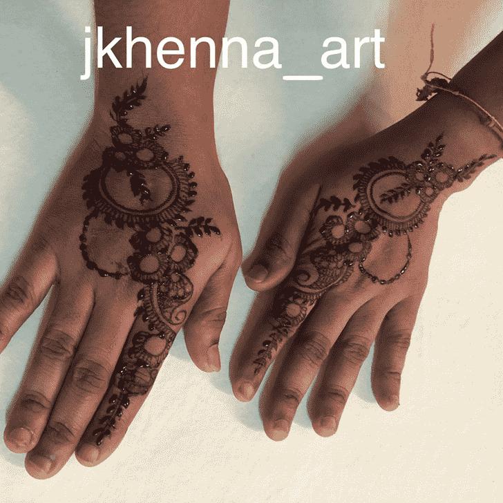 Adorable Mysore Henna Design