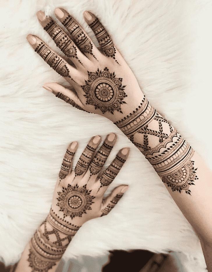 Angelic Mysuru Henna Design