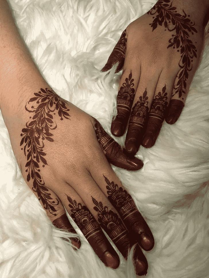 Captivating Mysuru Henna Design