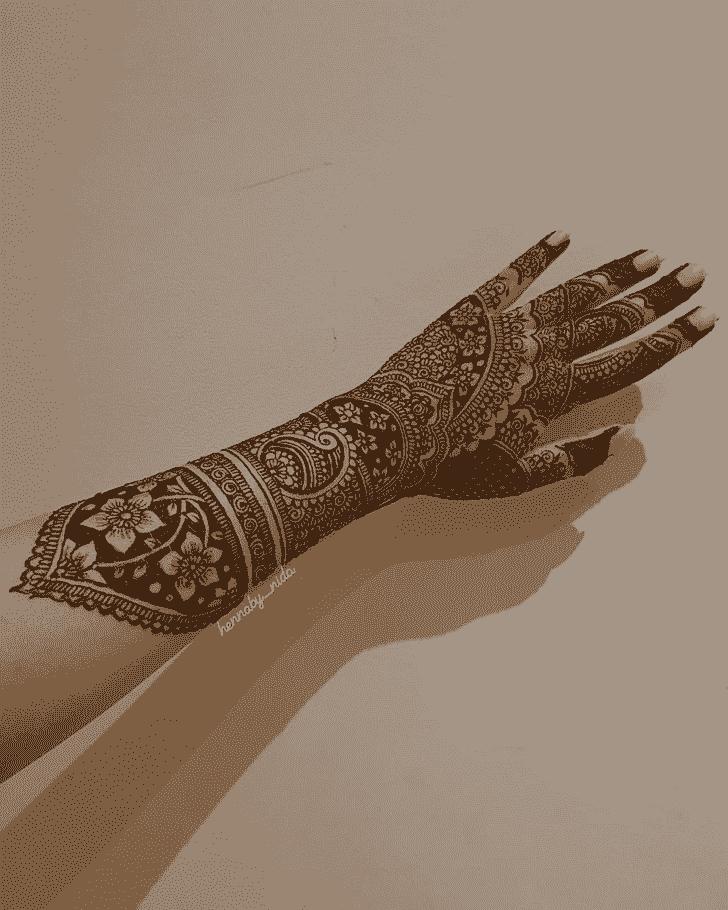 Classy Mysuru Henna Design