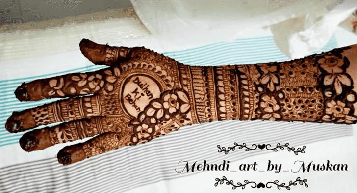Admirable Nagpur Mehndi Design