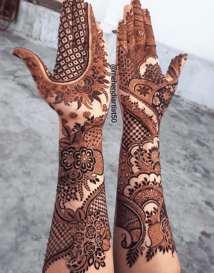 Angelic Nagpur Henna Design