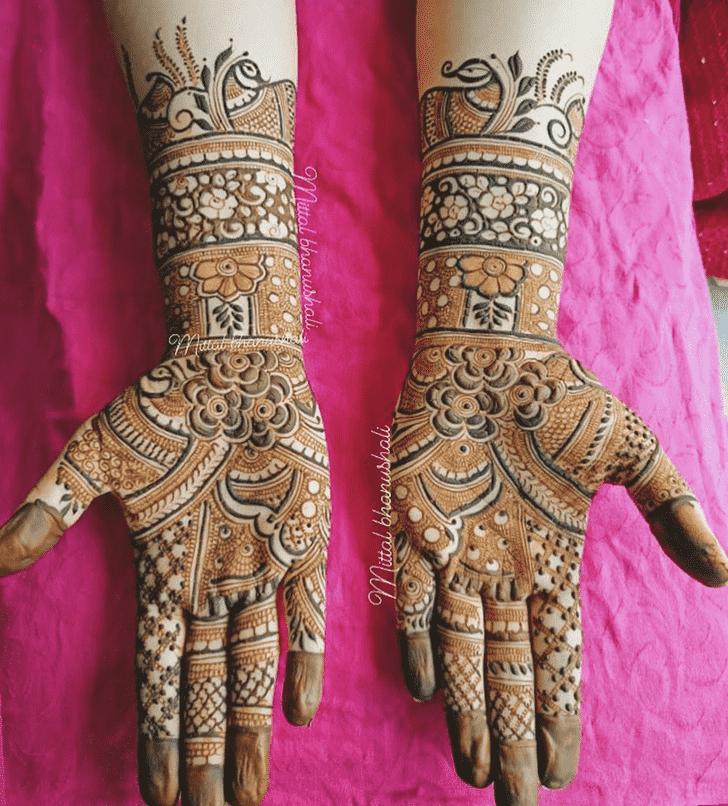 Bewitching Nagpur Henna Design