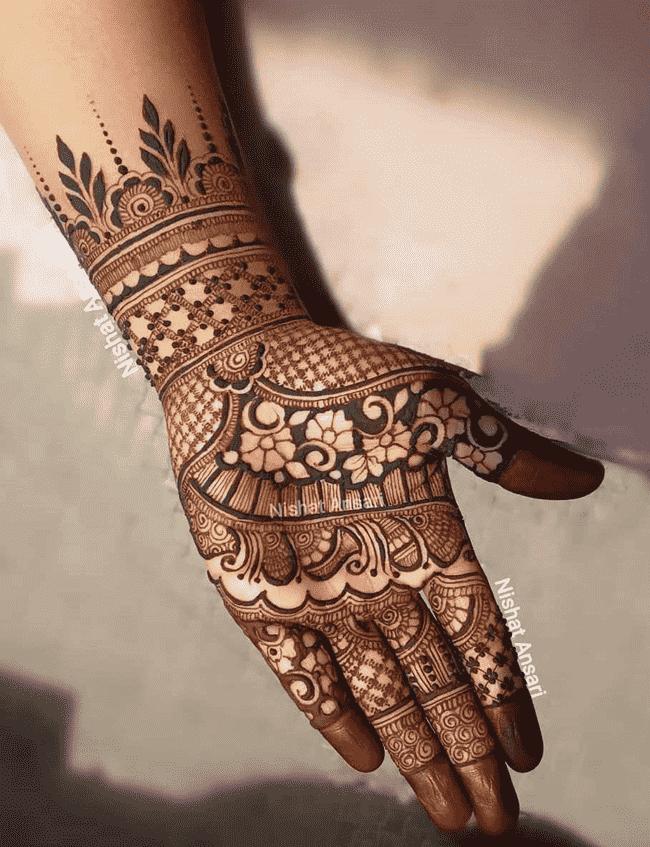 Adorable Nainital Henna Design