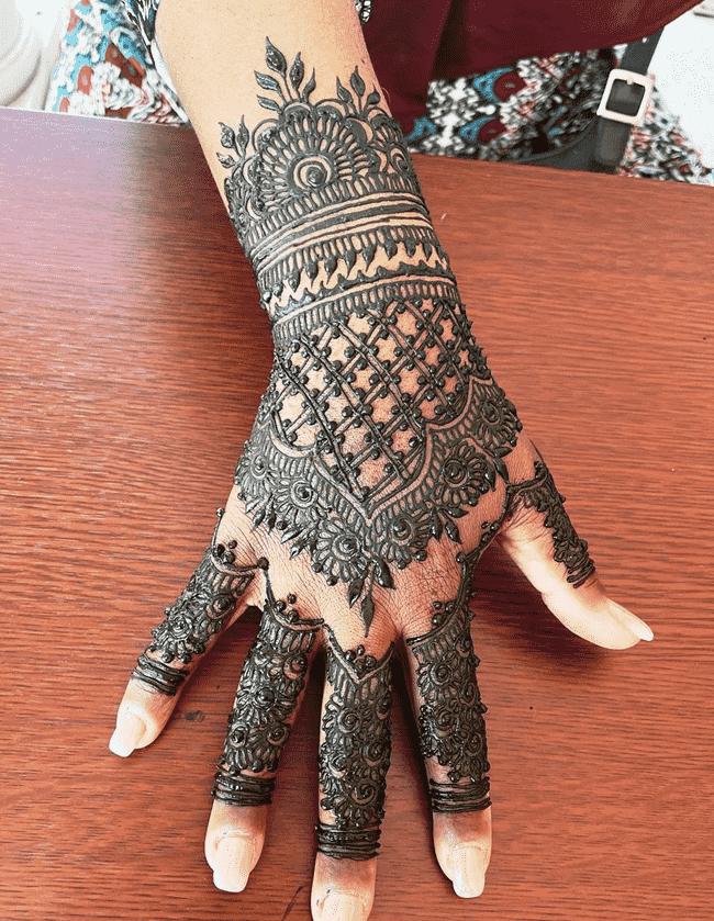 Appealing Nainital Henna Design