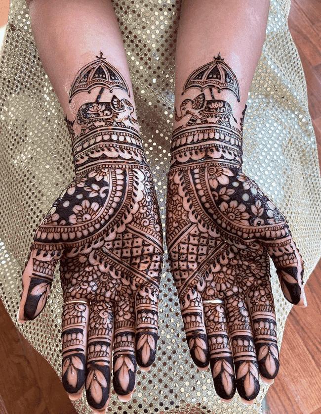 Bewitching Nainital Henna Design