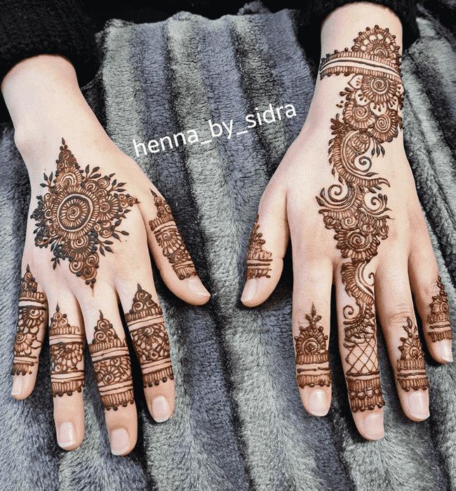 Captivating Nainital Henna Design