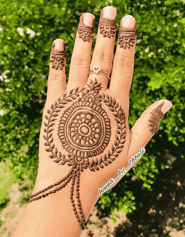 Classy Nainital Henna Design