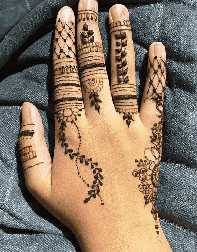 Delightful Nainital Henna Design