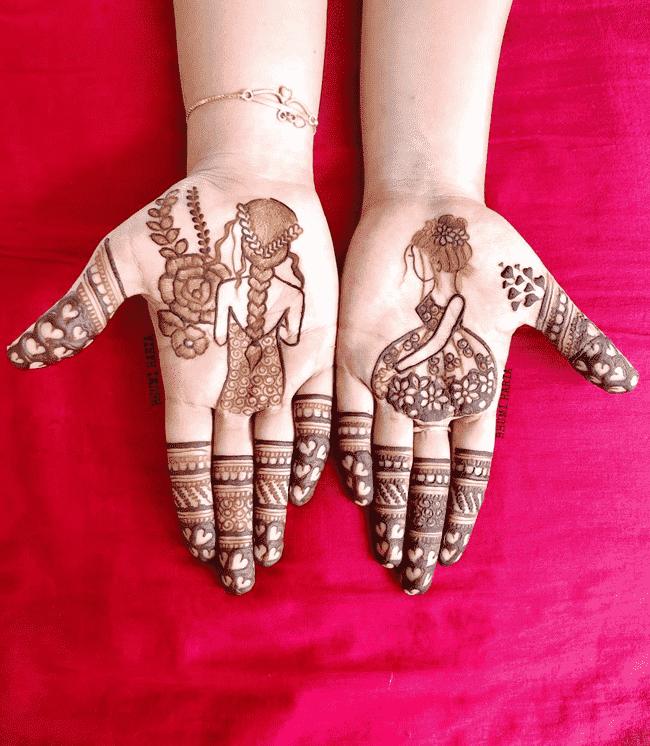 Arm Nainital Henna Design