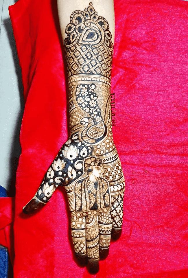Elegant Nainital Henna Design