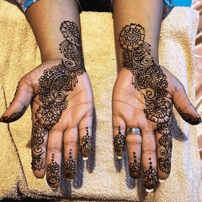 Excellent Nainital Henna Design