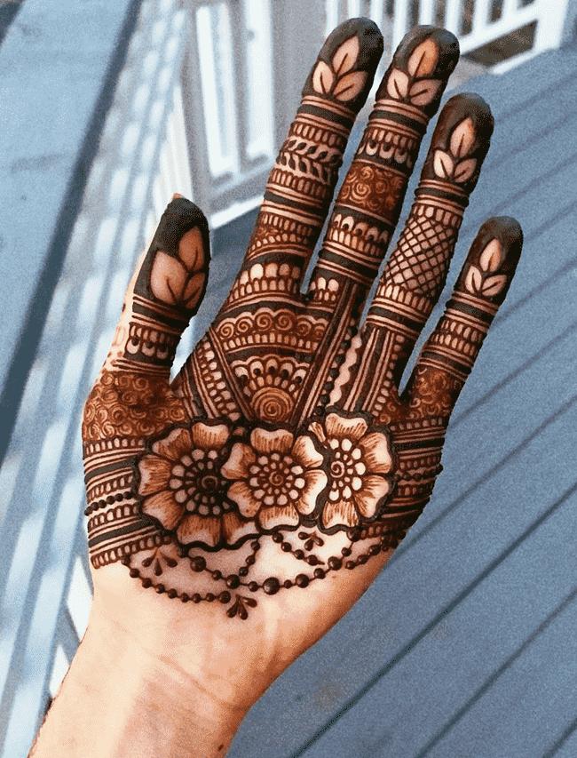 Fascinating Nainital Henna Design