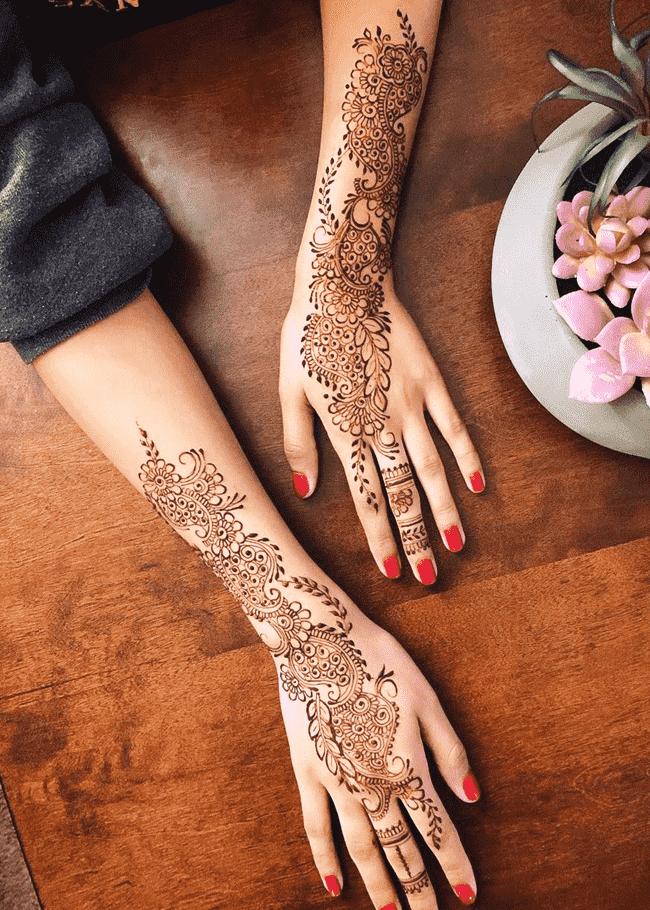 Fine Nainital Henna Design